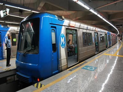 Rio de Janeiro metro. Phopto wikimedia
