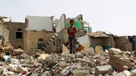 Syria ruins