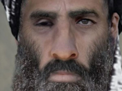Taliban leader Mullah Omar has rarely been photographed or seen in public. PHOTO:www.military.com