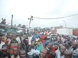 Auto spare parts traders in shock as the market was shut on June 30 								        PHOTO: CHARLES OKOLO