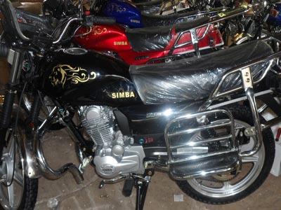 Simba motorcycle