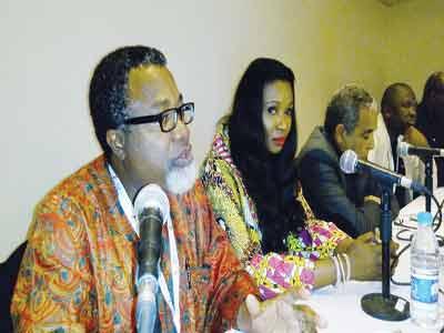 Ali Balogun, Chioma Ude, Pedro Pimenta and Adile Buwa