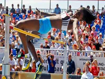 Doreen Amata is Nigeria's hope in the high jump