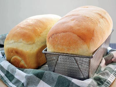 White bread...Refined foods cause blood sugar levels to spike rapidly – prompting the body to pump out the hormone insulin, which helps break down the sugar. But this process can cause symptoms of depression           																	        PHOTO CREDIT: google.com