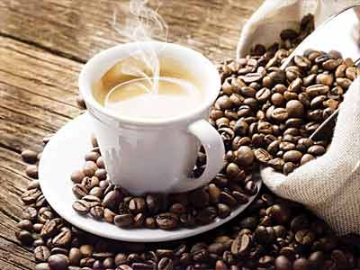 A cup of coffee...It now appears that drinking the equivalent of a double espresso three hours before going to sleep can turn back the clock by an hour, by delaying a rise in the level of the hormone melatonin.