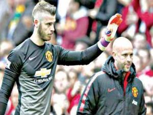 De Gea  missing in Man United's squad