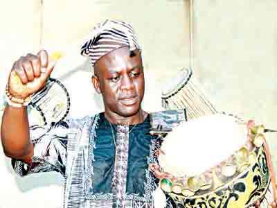 Laoye on drum