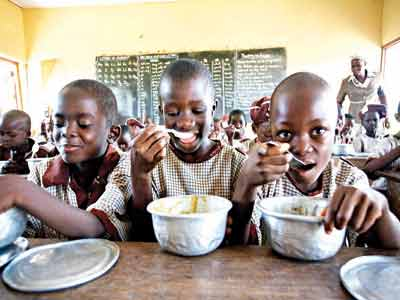 School feeding programme... recommended to tackle malnutrition in Nigeria