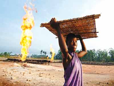 Gas flare... a major problem in the Niger Delta region