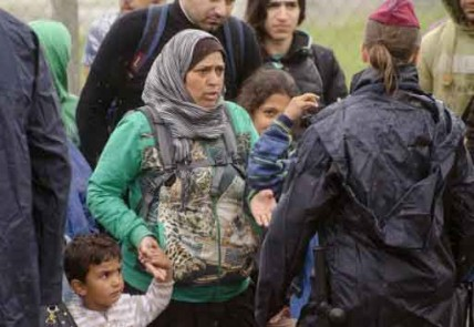 Hungary-sends-2,100-police-to-Serbia-border-to-stem-migrant-influx