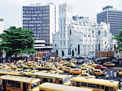 Central Lagos, recently