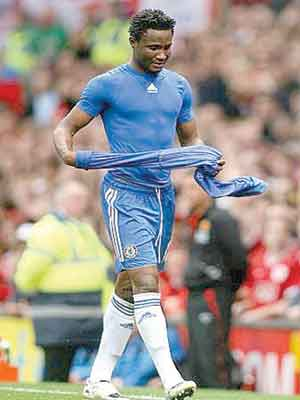 John Obi Mikel is one of the 'benchwarmers' in Chelsea