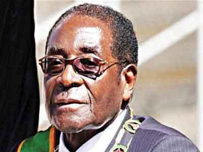 African Union Chairman, Robert Mugabe