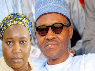 Amina And Buhari. weeklypost