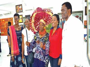 Tour Operators at Nike Art Gallery, Lekki during the tour of Lagos organized by NATOP recently