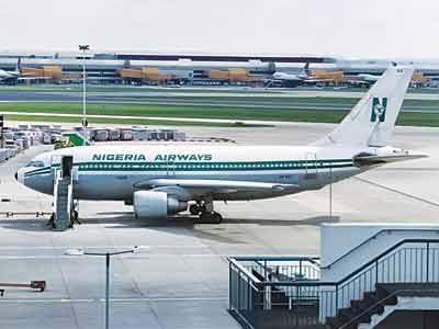The defunct Nigeria Airways