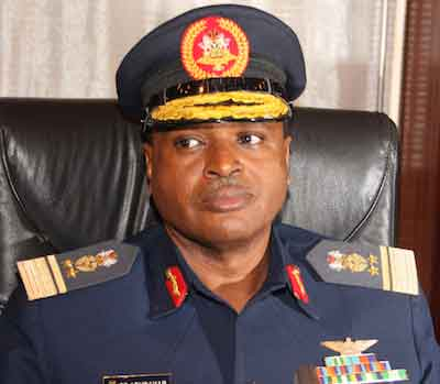 Chief of Air Staff, Sadiq Abubakar