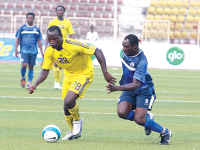 Sunshine Stars and Enyimba are placed first and second respectively in the Glo Premier League.