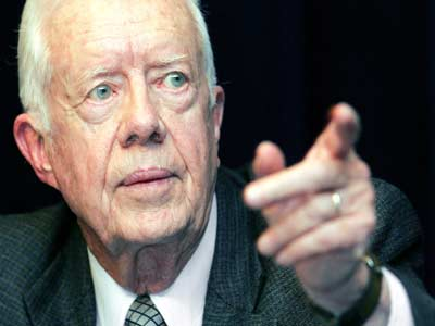 Former US President Jimmy Carter on Wednesday said that recent liver surgery had shown he has cancer. Photo credit nypost