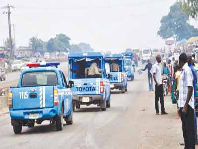 Team of FRSC officials on patrol						 PHOTO: HAULAGEREPORTNOW.COM