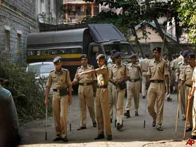 Indian Police. PHOTO: www.cathnewsusa.com