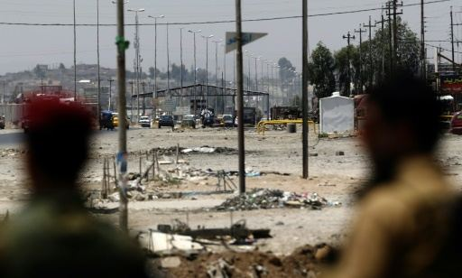 iraq check point