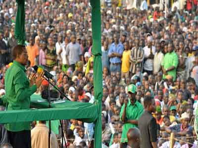 ... of the chatter among the political class recently has focused on CCM's refusal to take part in any public debates during this general election campaign.  shurufuanasema