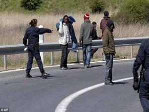 Migrants  PHOTO: www.dailymail.co.uk