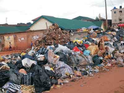Image result for dumping of refuse in Abeokuta