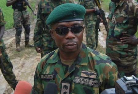 Lt.-Col. Timothy Opurum