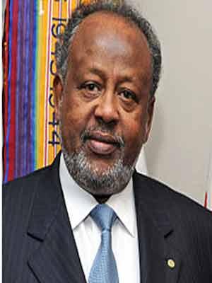 DJIBOUTI President Ismail Omar Guelleh. PHOTO: wikipedia