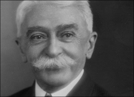 Founder of the modern Olympic Movement, Pierre de Coubertin. PHOTO : bbc
