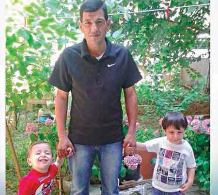 Drowned boy Aylan, his father Abdullah and brother