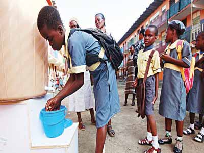 Going back to the basics... regular hand-washing with soap and water has been shown to help prevent the spread of infectious diseases such as the dreaded Ebola Virus Disease (EVD)                                                                                                                                                                                                  PHOTO: google.com/search