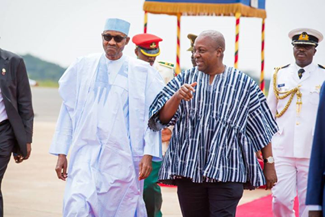 Buhari and Mahama