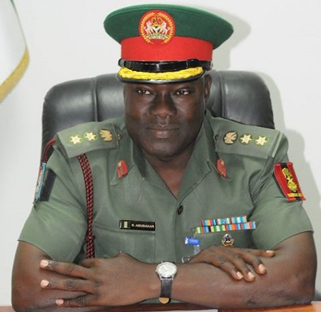 Colonel Rabe Abubakar