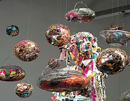 Thoughts of Obiageli, an installation by Goerge Edozie