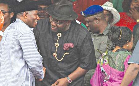 Former President Jonathan at Dickson re-election declaration