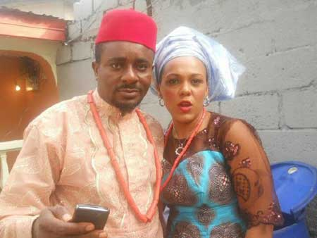 Emeka and wife before the divorce mess