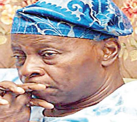Party's National Chairman, Chief Olu Falae