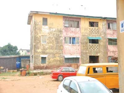e house where the incident took place at Ipaja