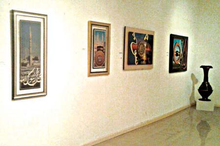 A section of the Seeds of Peace: The Sower and The Envoy exhibition at National Museum, Onikan, Lagos