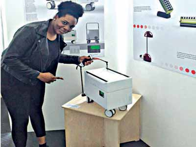 Miss Jaiyeola Oduyoye, has created a mobile medical battery back-up system that aids the growth of surgeries taking place in developing countries.