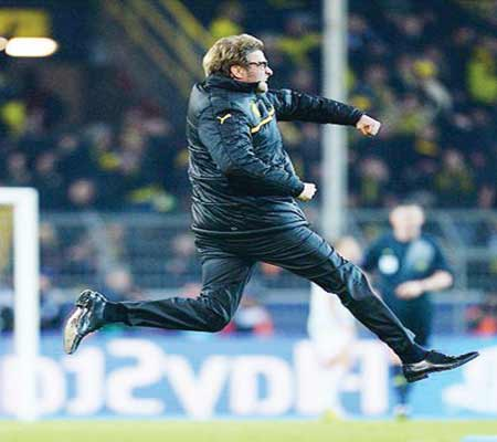 Jurgen Klopp is one of the managers touted to replace Brendan Rodgers in Liverpool.