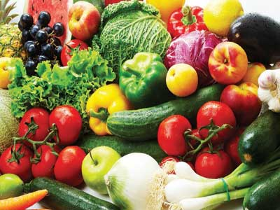 Fresh fruits and vegetables...new study suggests that those who follow healthy dietary patterns that prominently feature fruit, vegetables, nuts and legumes may be at a reduced risk of depression.