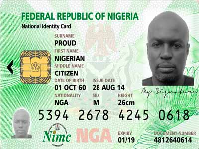 dhq alerts on circulation of fake national identity card news