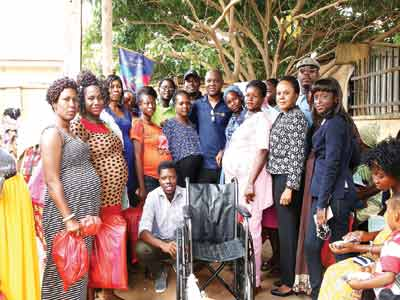 Some pregnant women with Rotary members
