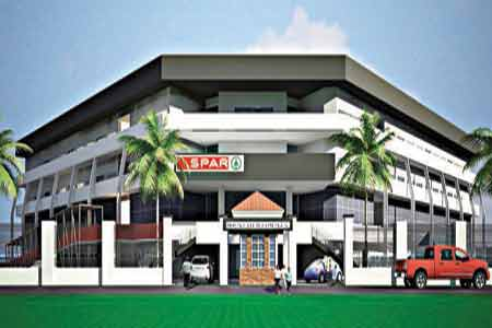 Illustration of the proposed Mountview shopping mall in Lifecamp, Abuja