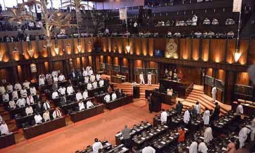 Sri-Lanka's-parliament