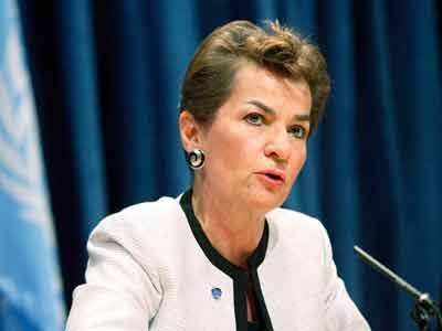 Executive Secretary of the UNFCCC, Christiana Figueres